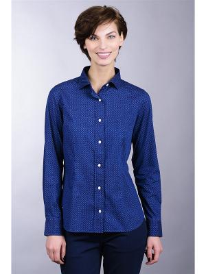 Рубашка Eden Park. Цвет: темно-синий