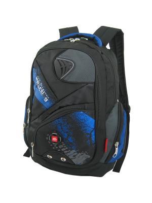 Рюкзак Stelz. Цвет: черный, синий