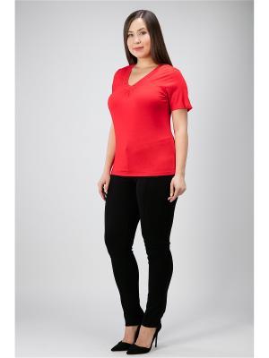 Блузка Proto. Цвет: красный