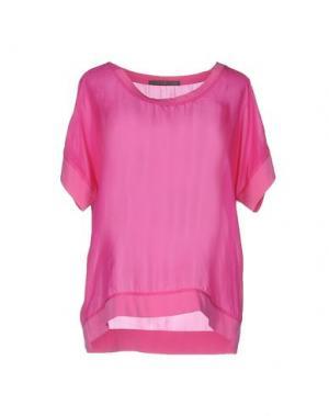 Блузка 19.70 NINETEEN SEVENTY. Цвет: светло-фиолетовый
