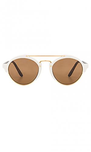 Солнцезащитные очки milan ii illesteva. Цвет: белый