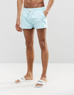 Heist Короткие шорты для плавания. Цвет: зеленый