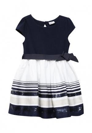 Платье Blukids. Цвет: синий