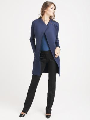 Пальто VITA STRETTA. Цвет: темно-синий