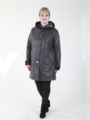 Пальто Джастин VIKO. Цвет: серый