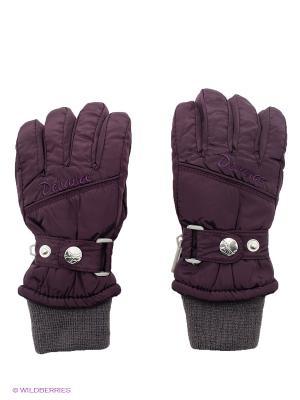 Перчатки Devance. Цвет: фиолетовый
