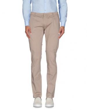 Повседневные брюки MASSIMO BRUNELLI. Цвет: хаки