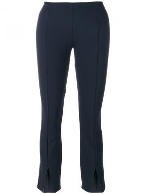Cropped cut out trousers The Row. Цвет: синий