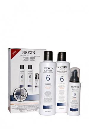 Набор Система 6 Nioxin. Цвет: белый