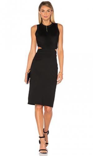 Платье shaina Amanda Uprichard. Цвет: черный