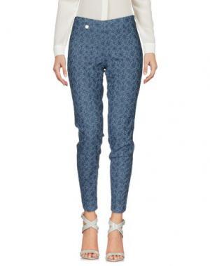 Повседневные брюки SHAFT DELUXE. Цвет: грифельно-синий