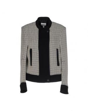 Куртка FARHI BY NICOLE. Цвет: серый