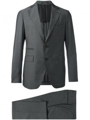 Брючный костюм Tagliatore. Цвет: серый