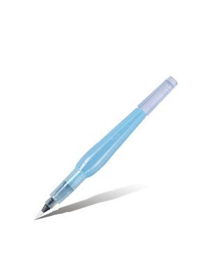 Кисть с резервуаром Aguash Brush тонкая Pentel. Цвет: фиолетовый, белый, прозрачный
