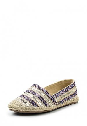 Эспадрильи Sweet Shoes. Цвет: разноцветный