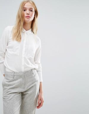 Gestuz Рубашка Gemma. Цвет: белый