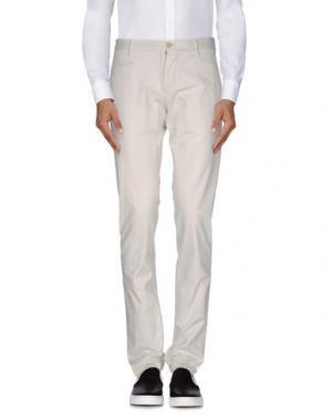 Повседневные брюки ALTEA. Цвет: светло-серый