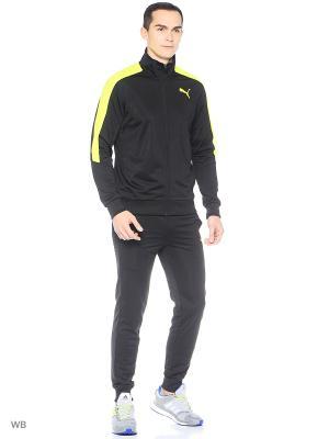Костюм спортивный  Line Suit Tricot Puma. Цвет: черный