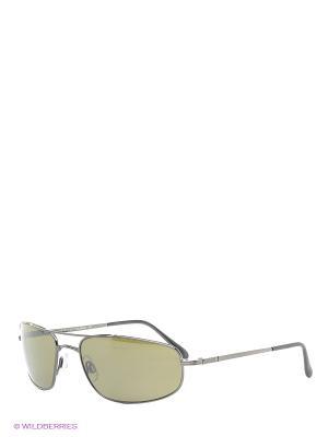 Солнцезащитные очки Serengeti. Цвет: черный, зеленый