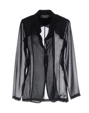 Пиджак MARIA CALDERARA. Цвет: черный
