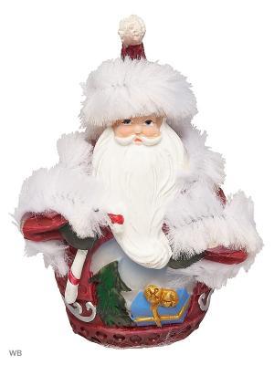 Дед Мороз шубка А М Дизайн. Цвет: бордовый, голубой, белый