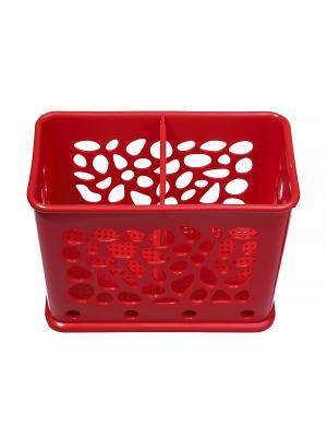 Подставка для столовых приборов Migura. Цвет: красный