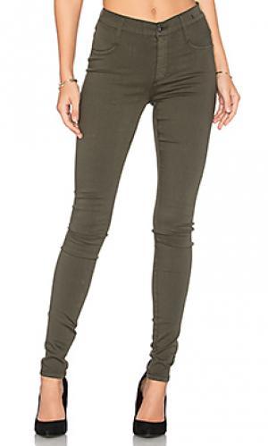 Леггинсы twiggy dancer James Jeans. Цвет: зеленый