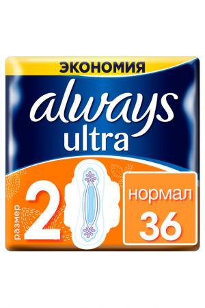 Прокладки Ultra Normal, 36 шт ALWAYS. Цвет: none