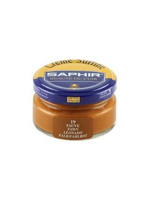 Крем для обуви  банка стекло sphr0032 Creme Surfine 50 мл (19 рыжо-коричневый) Saphir. Цвет: светло-коричневый