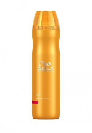 Шампунь для волос и тела Wella. Цвет: оранжевый