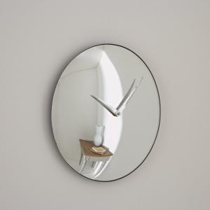 Часы с волшебным зеркалом JOSÉ LEVY для марки Bensimon. Цвет: серый серебристый