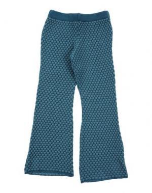 Повседневные брюки AMINA RUBINACCI. Цвет: цвет морской волны