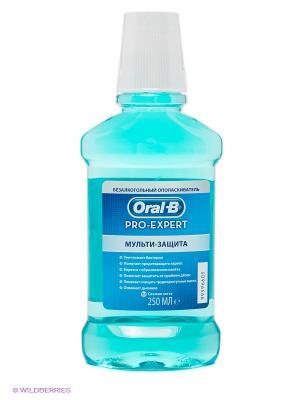 Ополаскиватель полости рта безалкогольный, Pro-Expert Мульти-Защита, 250 мл ORAL_B. Цвет: голубой
