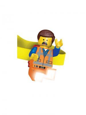 Налобный фонарик LEGO Movie (Муви)-Emmet (Эммет) Lego.. Цвет: синий, желтый, оранжевый