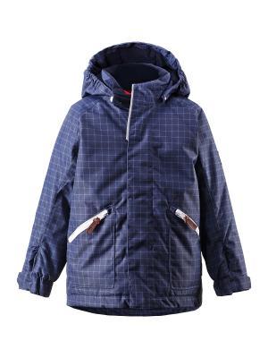Куртка Reima. Цвет: индиго