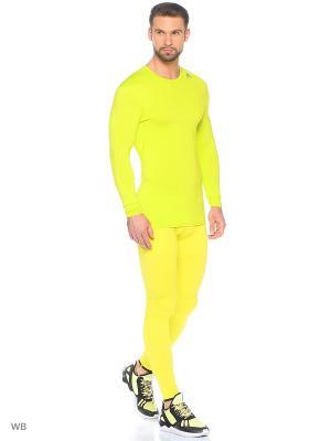 Тайтсы Techfit Heat Hero Tights Adidas. Цвет: желтый, черный