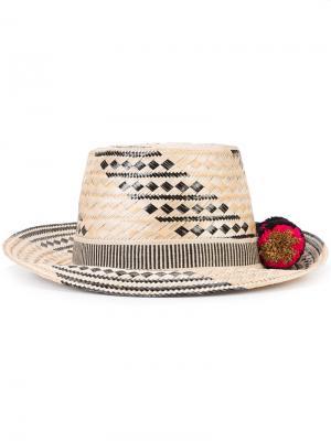 Шляпа Siruma Yosuzi. Цвет: телесный