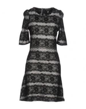 Короткое платье CUTIE. Цвет: серый