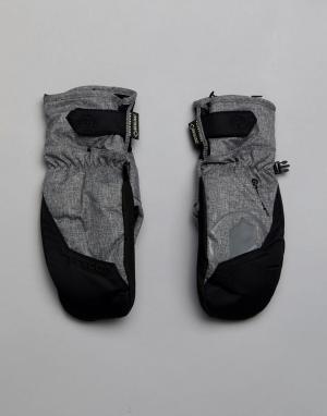 Volcom Зимние перчатки. Цвет: серый