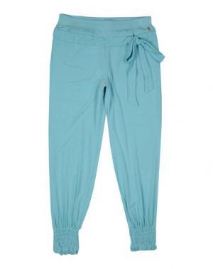 Повседневные брюки MISS GRANT. Цвет: небесно-голубой