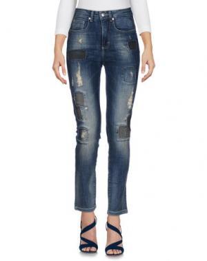 Джинсовые брюки BLUE LUXURY. Цвет: синий