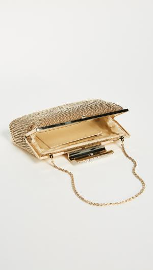 Crystal Clasp Clutch Whiting & Davis