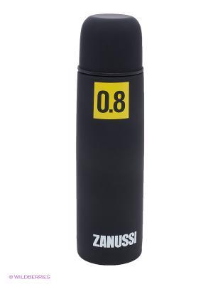 Термос черный 0,8 л Zanussi. Цвет: черный