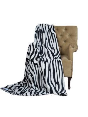 Плед Sleepy Classic Zebra. Цвет: белый, черный