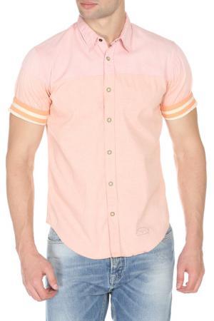 Рубашка Scotch&Soda. Цвет: light pink, светло-розовый