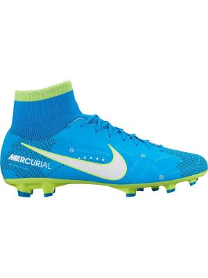 Бутсы MERCURIAL VICTORY VI DF NJR FG Nike. Цвет: синий