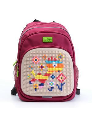 Рюкзак KIDS 4All. Цвет: красный, бежевый