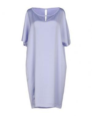 Короткое платье XANDRES. Цвет: сиреневый