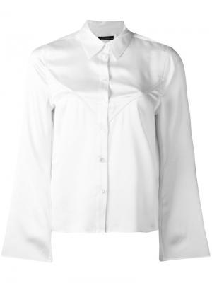 Рубашка  x Kate Moss Equipment. Цвет: белый