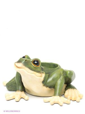 Кашпо Sealmark. Цвет: зеленый, молочный
